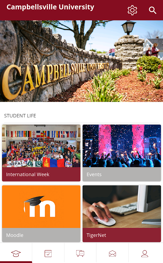 Campbellsville University- screenshot