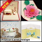 Creative 3D Popup card Ideas Icon