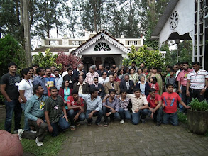 Photo: Some of the gang that assembled for the reunion picture