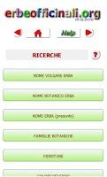Screenshot of Erbe Officinali e Medicinali