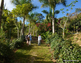 Photo: Birders at the Vallarta Bird Festival, Vallarta Botanical Gardens