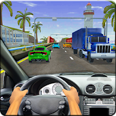 High Speed Traffic Car Driving Road Race Simulator