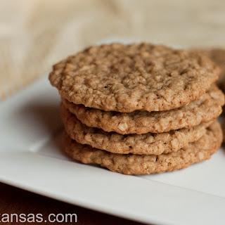 Cinnamon Oatmeal Cookies.