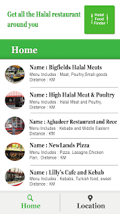 Halal Food Finder - náhled