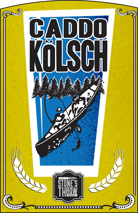 Logo of Stone's Throw Caddo Kolsch