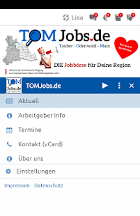 TOMJobs.de- screenshot thumbnail