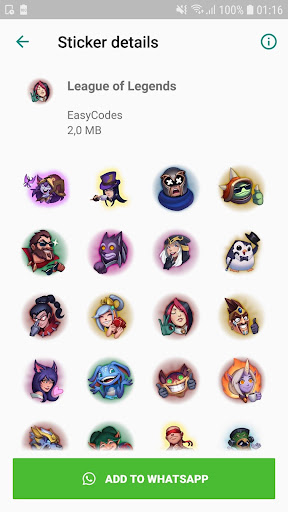 WAStickerApps - Games stickers for Whatsapp 1.0.6 screenshots 2