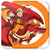 Naruto Red Dragon Blade Flying