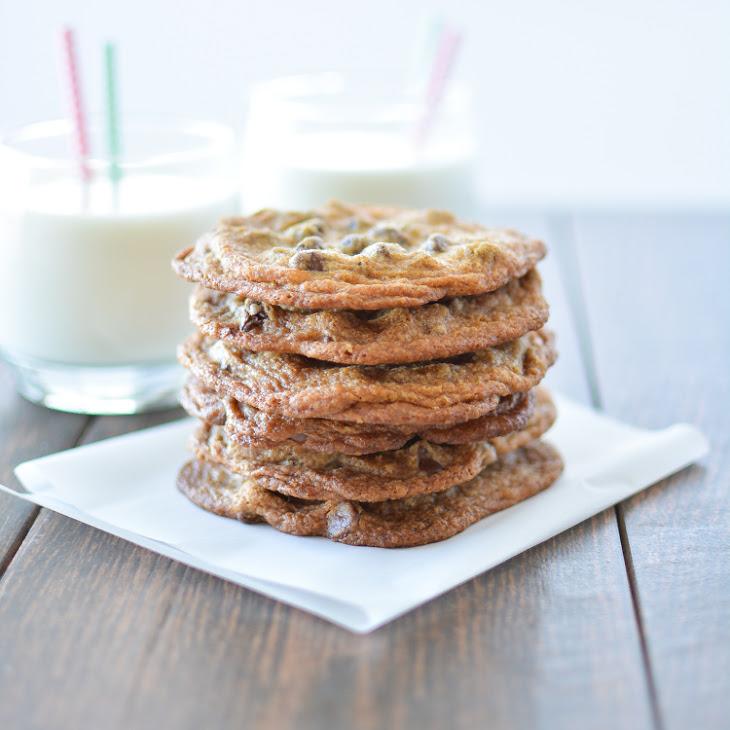 Crispy Chocolate Chip Cookies with Pumpkin