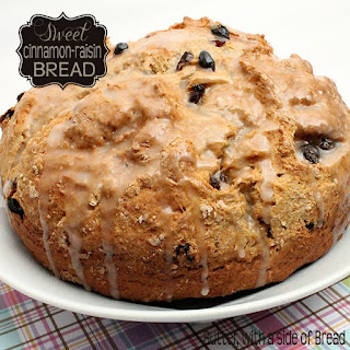 SWEET CINNAMON-RAISIN QUICK BREAD