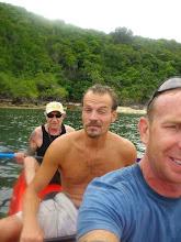 Photo: 3 person kayak to island.