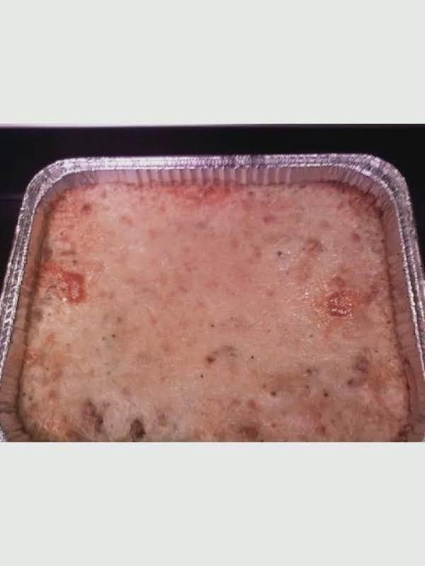 Pastitsio  [greek Macaroni Pie] Recipe