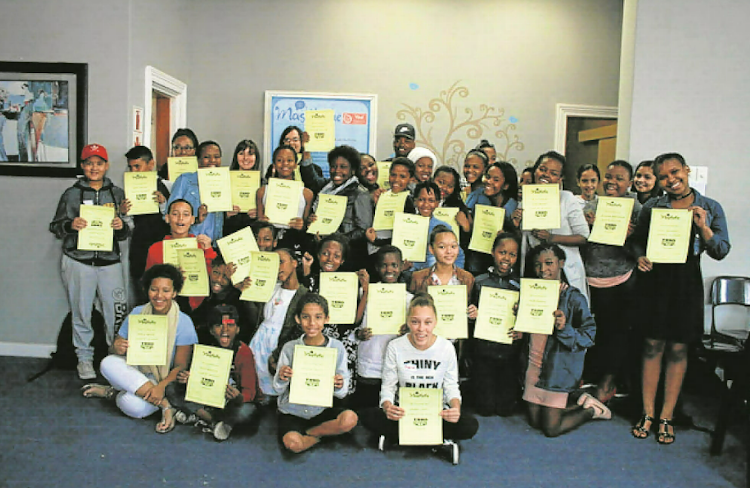 Masithethe Counselling services (formerly Lifeline) held their annual Tween Lifeskills course last week for youngsters between 12 and 14 years old. Pictured are the facilitators and presenters of the course as well as the youngsters with their course certificates.
