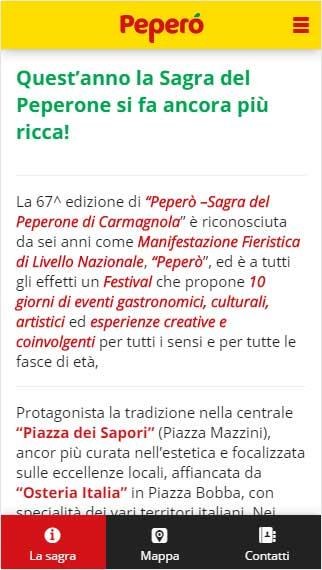 Sagra del Peperone 2016- screenshot