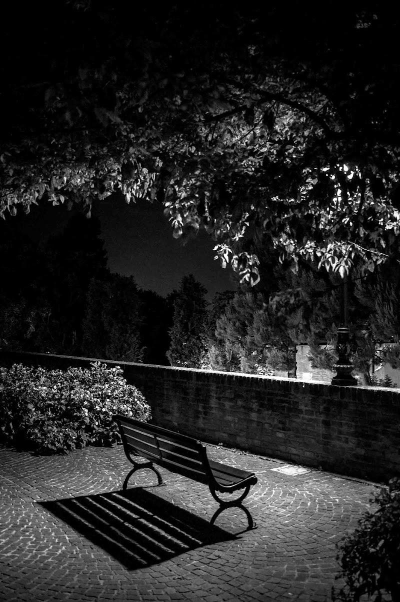 La panchina.... di Fabry