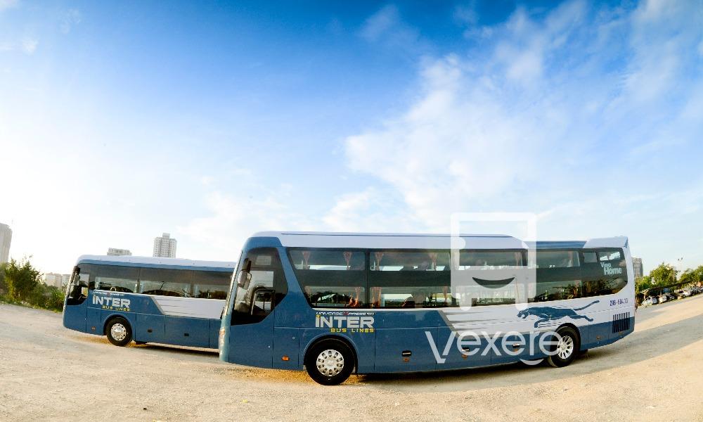 Xe Inter Bus Lines đi Cát Bà