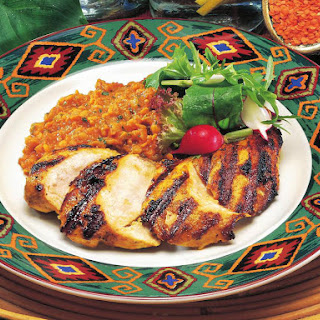 Chicken with Spicy Lentils.