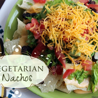 Vegetarian Nachos.