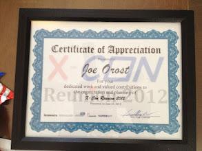 Photo: Sample Certificate