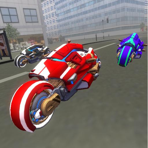 模擬App|未来のニューヨークオートバイ3D LOGO-3C達人阿輝的APP