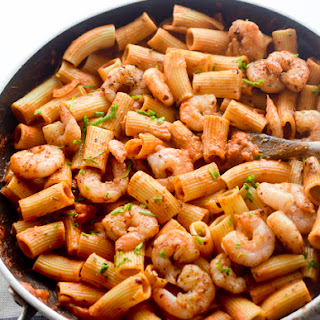 Spicy Rigatoni alla Shrimp