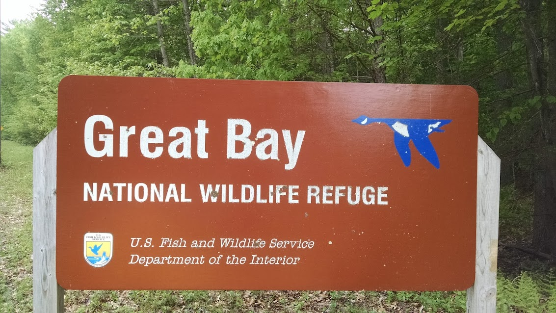 Great Bay National Wildlife Refuge - Newington, NH Trail Map