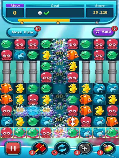 Ocean Match Puzzle apktram screenshots 2