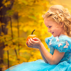 Cinderella by Tiona Anglin Appel - Public Holidays Halloween ( child, fall, costume, portrait, halloween )