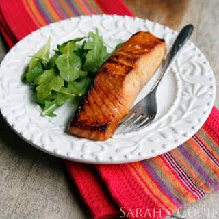 Miso Salmon (The Smart Shoppers Diabetes Cookbook).