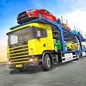 Truck Car Transport Trailer Games icon