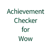Achievement Check for WoW
