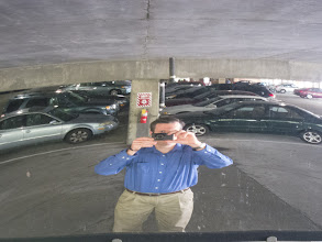 Photo: Day 300 of my project 365 was a busy one but I still managed to get a photo in. This time its of me in the parking garage at work looking at one of those mirrors that allow you to see aroud corners. Only 66 more days to go!