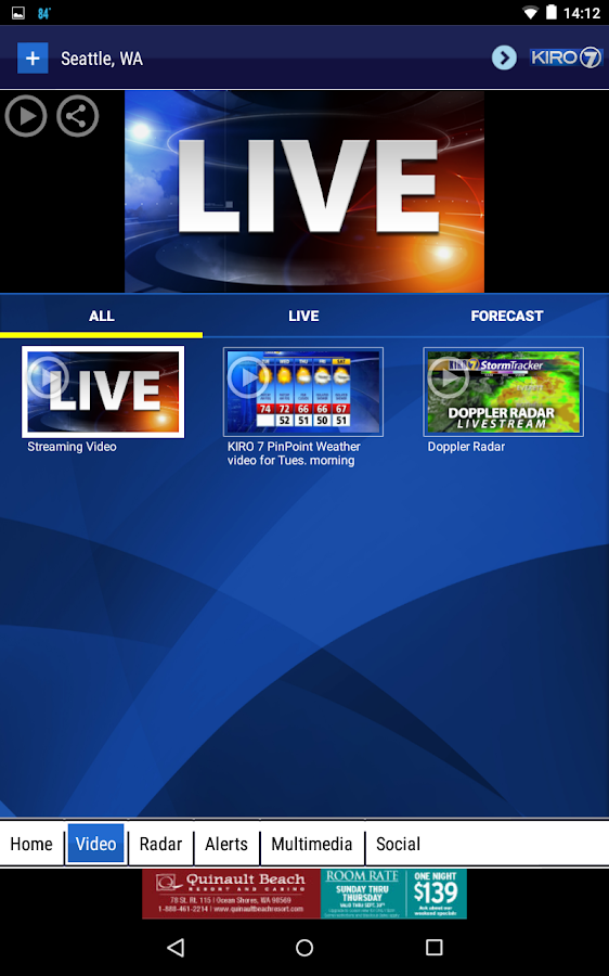 KIRO 7 Weather- screenshot