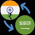 Indian rupee Saudi Arabian riyal / INR to SAR icon