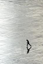 Photo: Walking on water