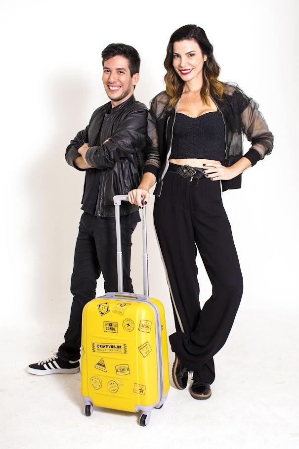 Lucas Assis e Samantha Urban Criativos.BR da Band