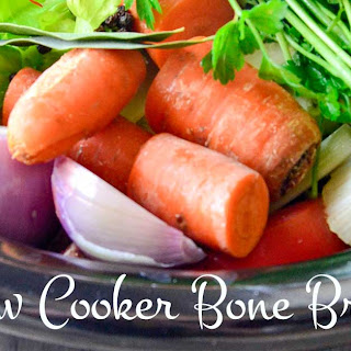 Slow Cooker Cooking Stock Recipe