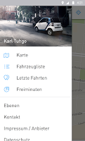 Screenshot of car2go