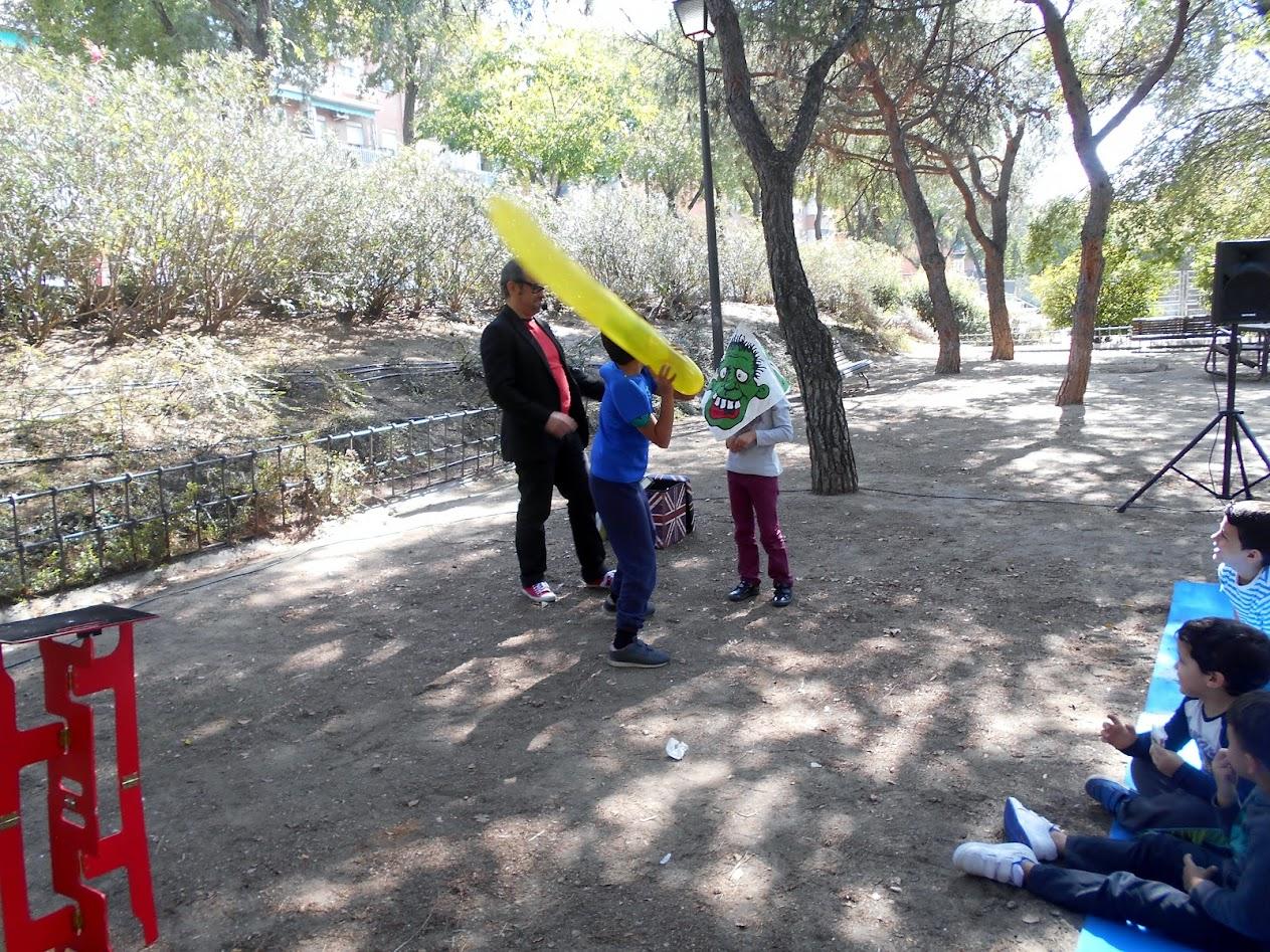 Alfonso V magia de risa en Villaverde 2015