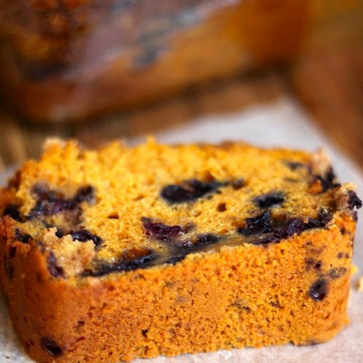 Whole Wheat Blueberry Pumpkin Bread Recipe | Yummly