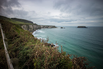 Photo: The coast of Ballintoy