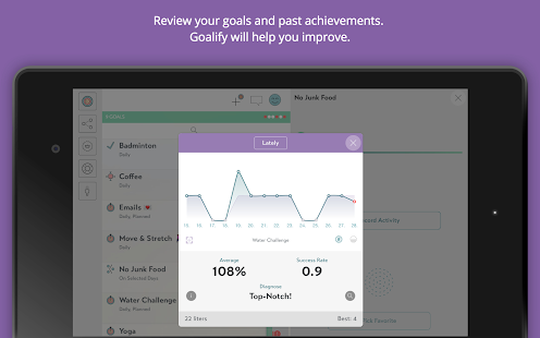 Goalify - My Goals & Habits- screenshot thumbnail