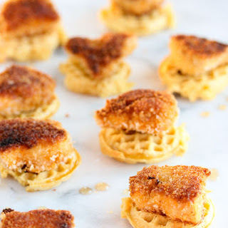 Chicken and Waffle Bites.