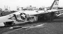 Photo: Crashed F11