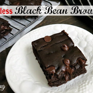 Gluten Free Flourless Black Beans Brownies