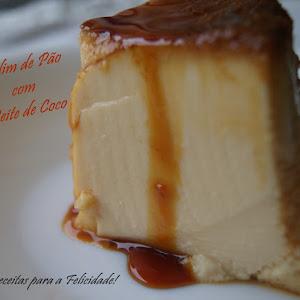 Bread Pudding with Coconut Milk