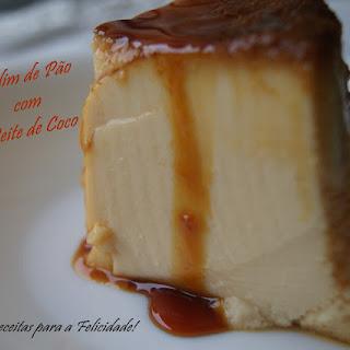 Bread Pudding with Coconut Milk.