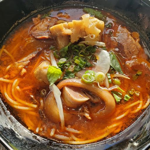 Spicy Hue Style Noodle Soup (Bun Bo Hue)