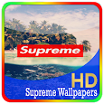 supreme wallpapers HD icon