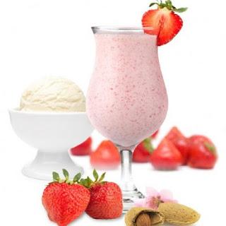 Strawberry-Vanilla Cocktail
